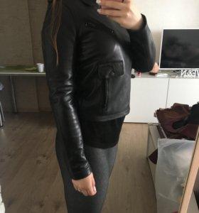 Selected Кожаная куртка