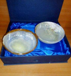 Посуда из оникса