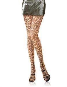 Леопардовые колготки