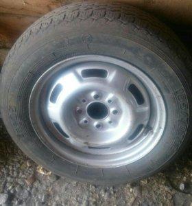 Запасное колесо с Ваз2109