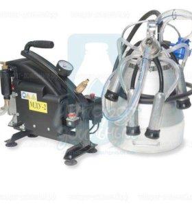 Доильный аппарат для коров мду-2 (до 6 голов)