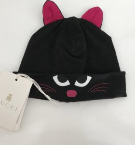 Новая шапочка Gucci.0-3 месяца