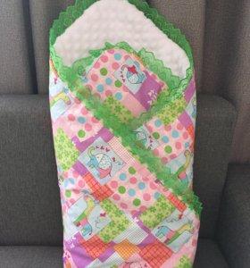 Одеяло детское на выписку