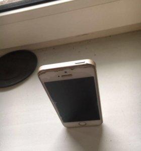 Продам iPhone 5S 16gb gold