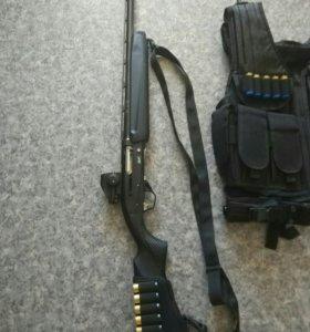 Трехточечный ремень для ружья