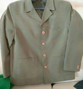 Модный пиджак коллекция 2014 в стиле кежел  52-54