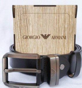 Ремень Armani в подарочной коробке🎁