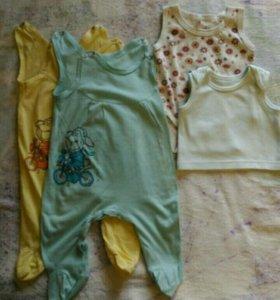 Одежда для новорожденных 56 размер