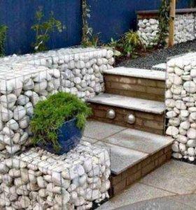 Натуральные камни для габионов