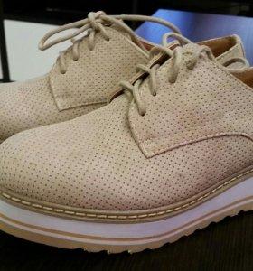 Классные бежевые ботиночки на лето !