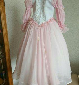 Платье детское на корсете