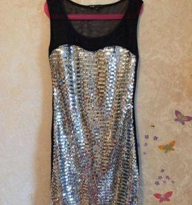 Платье праздничное р40-42 Oodji