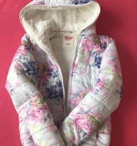 Курточка тёплая на весну-осень или наше лето))