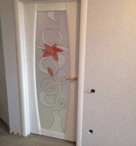 Двери установка