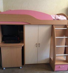 Кровать-детский комплекс