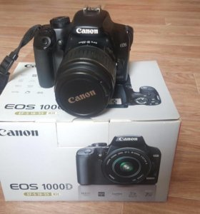 Canon EOS 1000D. 18-55kit
