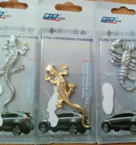 Новые наклейки на авто