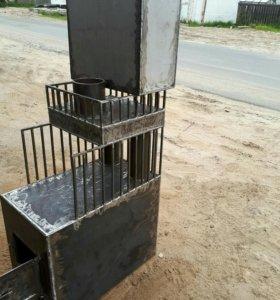 Печь для бани из 10мм стали