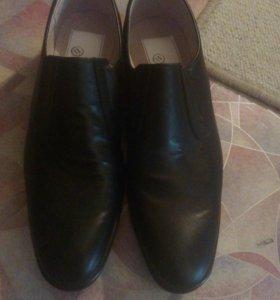 Продам кожанные туфли срочна
