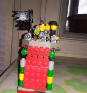 Лего конструктор с человечками