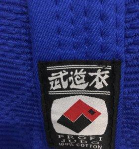 Кимоно белое и синее