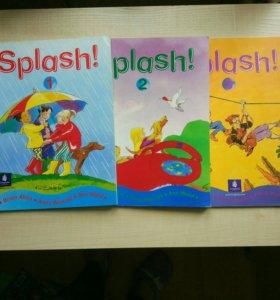 Учебники по английскому Splash + словарь в подарок