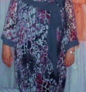 Женское платье 50+