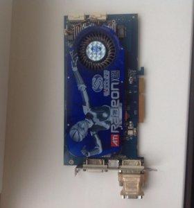 Видео карта Sapphire Radeon X1950 Pro AGP 512 Mb