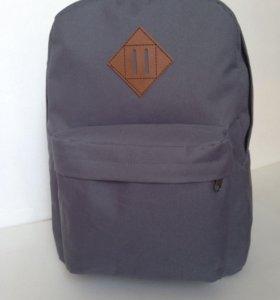 Новый молодежный рюкзак, темно-серый