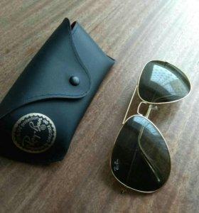 Черные очки Рей Бен