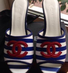 Сабо туфли Chanel кожа новые