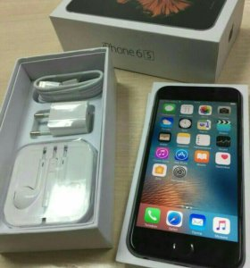 Apple iPhone 6s 16 gb space gray и подарок