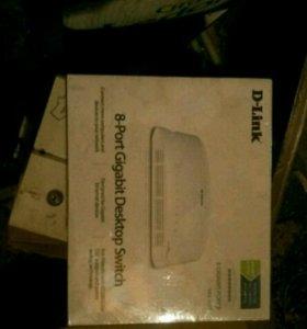 D-Link 8 port gigabit DGS 1008D