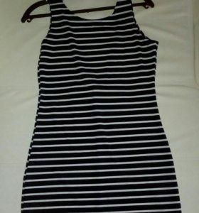 Платье 44-46 с открытой спинкой