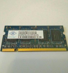 Продам оперативку Nanya. Sodimm PC2 -5300 512 mb