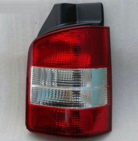 VW Transporter T5 фонарь левый правый красно-белый