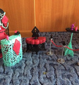 Мебель Monster High и Winx