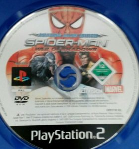 Диск на PlayStation®2(SPIDER-MAN WEB OF SHADOWS)