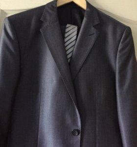 Костюм новый, пиджак+брюки+галстук