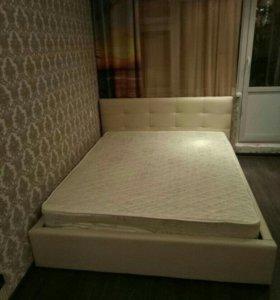 Кровать Белая Роза с матрасом