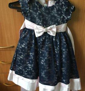 Платье для девочки размер 104