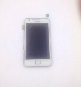 Дисплей Samsung i9105 Galaxy S2 Plus c тачскрином