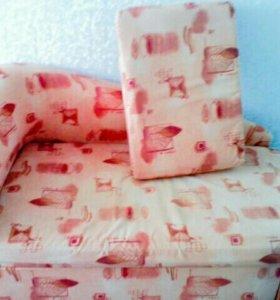 Детский раскладной диван-кровать