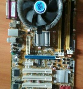 Материнка + процессор