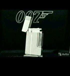 S.T. Dupont Paris 007 зажигалка (gold,silver)
