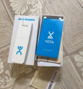 Yota модем. USB+wi-fi.