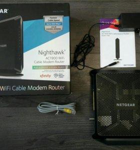 Netgear C7000 DOSIS 3 кабельный модем-роутер.