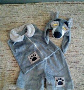 Новогодний костюм волка для мальчика