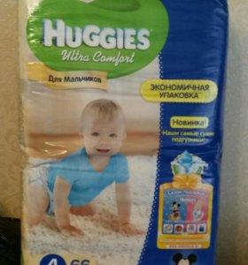 Подгузники-трусики Huggies ultra comfort р.4