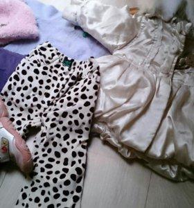 Мешок вещей на девочку 6-12 месяцев